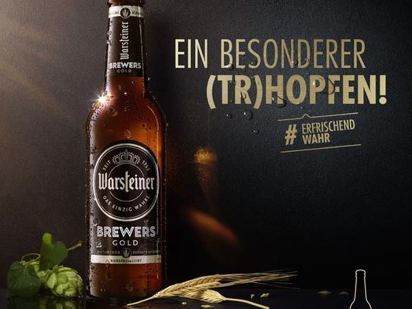 Warsteiner Brewers Gold